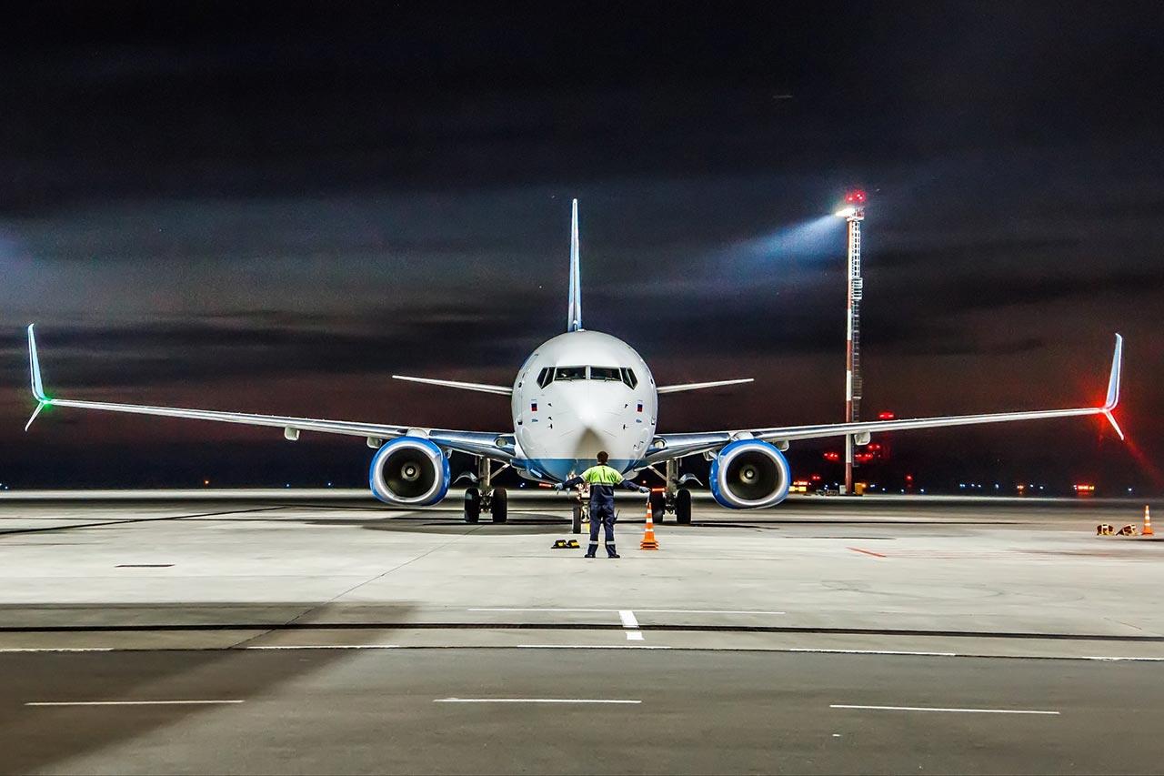 Авиалайнер Boeing 737-800NG авиакомпании