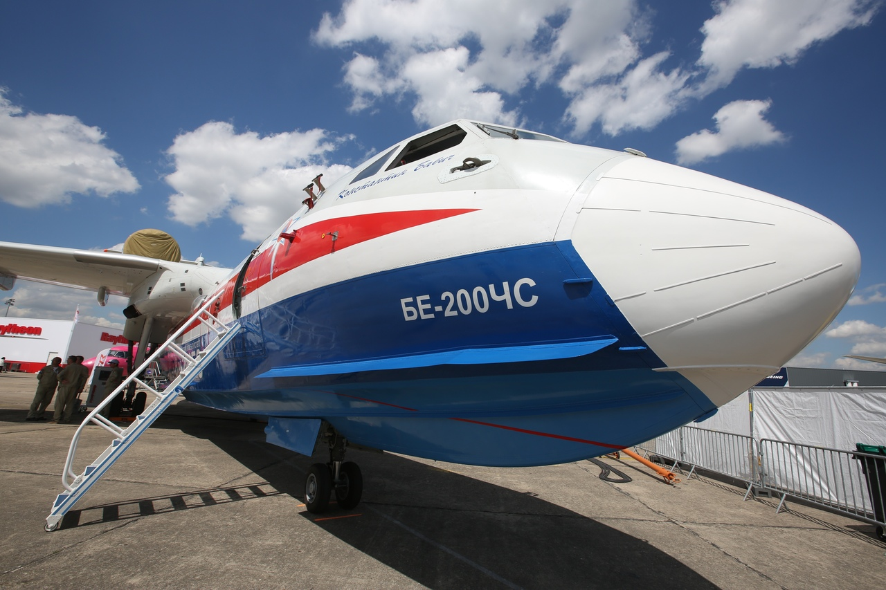 Самолет-амфибия донского производства представил Россию на международной выставке //Фото: пресс-центр объединенной авиастроительной корпорации