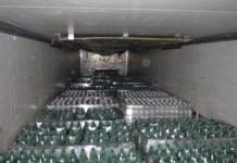 В Ростовской области изъяли более 34 тысяч контрафактных бутылок минеральной воды//Фото: таганрогская таможня