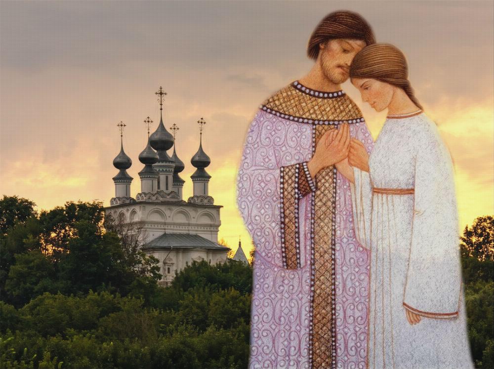 Петр и Феврония Муромские//Фото: culture.ru