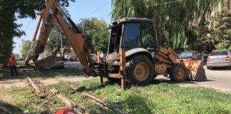 Ремонт трамвайных путей//Фото: администрация Новочеркасска