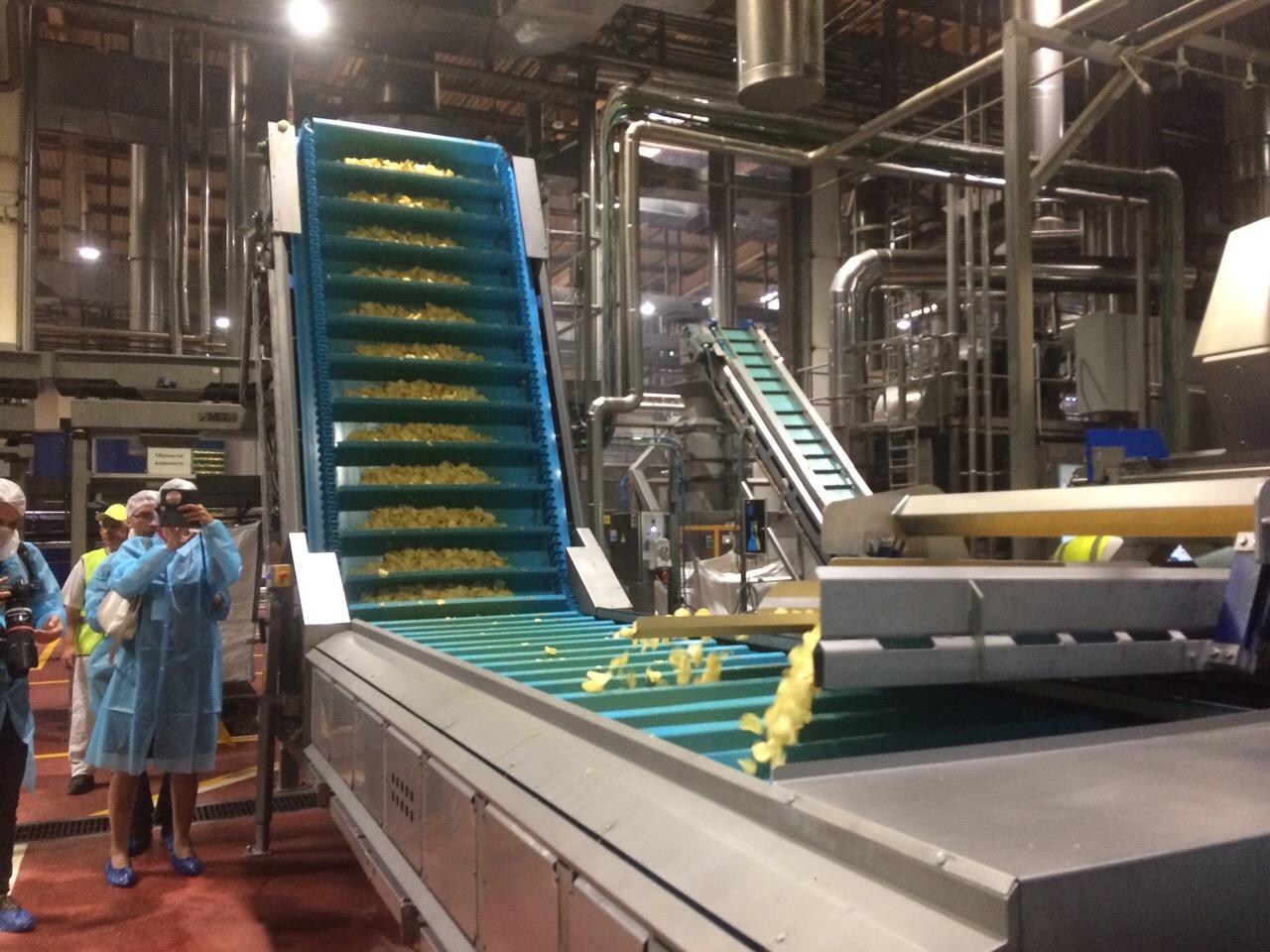 Компания PepsiCo запустила новую производственную линию на заводе в Азове//Фото: Екатерина Мацкиева/Городской репортер