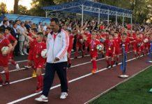 В Аксае открыли после реконструкции стадион площадью 15 тысяч квадратных метров//Фото: правительство Ростовской области