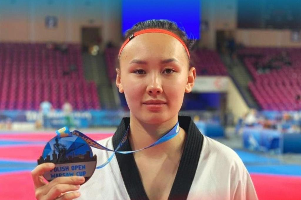 Ростовчанка Полина Хан успешно выступила на рейтинговом турнире G1-класса по тхэквондо «Polish Open»//Фото: пресс-служба администрации Ростова