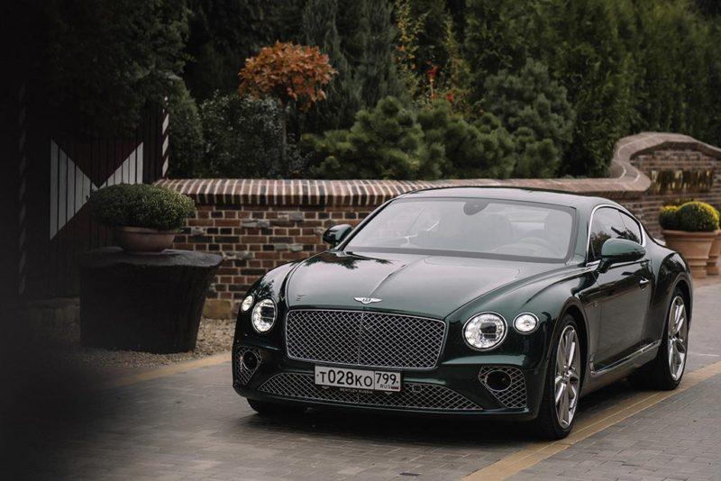 Bentley New Continental GT W12 //Фото: Ключавто