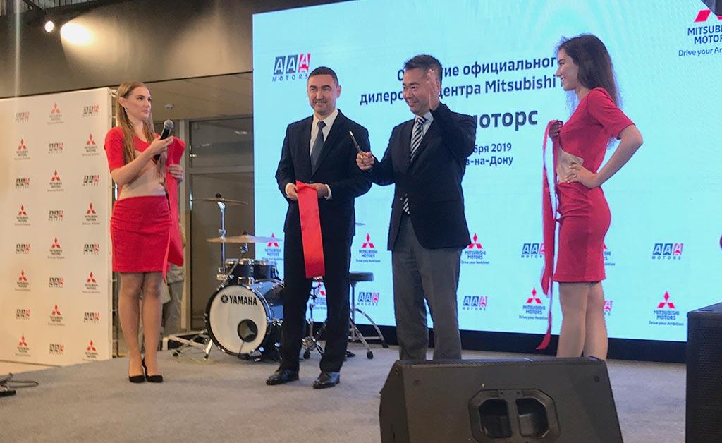 Открытие нового салона ААА-Моторс марки Mitsubishi в Ростове-на-Дону //Фото: