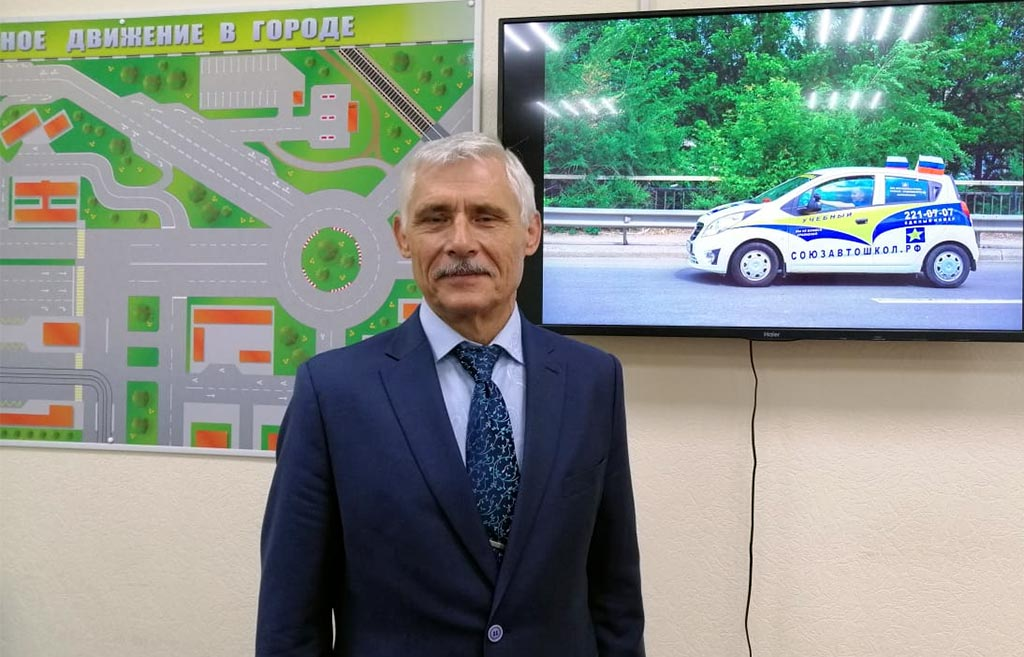 Автоинструктор Александр Петренко //Фото: