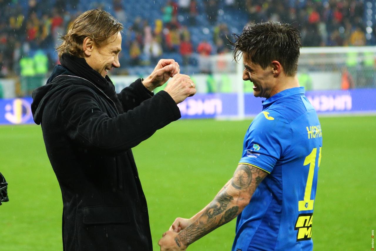Валерий Карпин и Матиас Норманн//Фото: пресс-служба клуба
