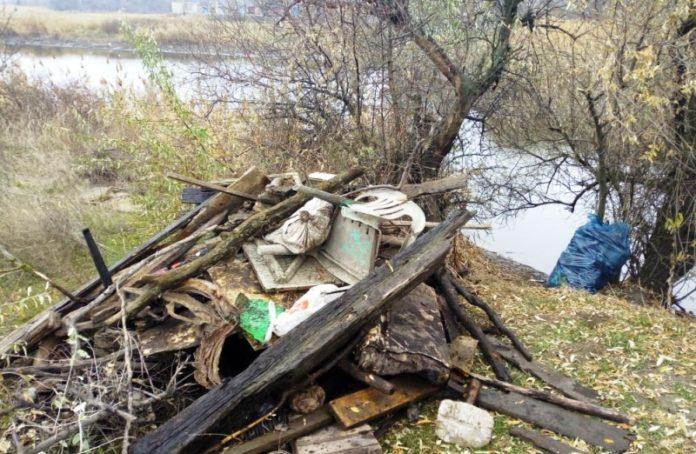 Очистка плотины у реки Грушевская//Фото: администрация Новочеркасска