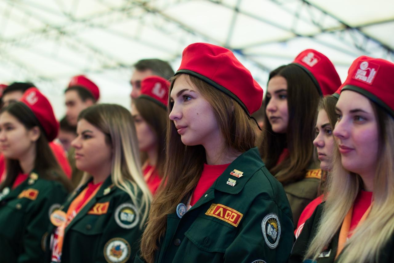 Студенты//Фото: пресс-служба Ростовского штаба студенческих отрядов