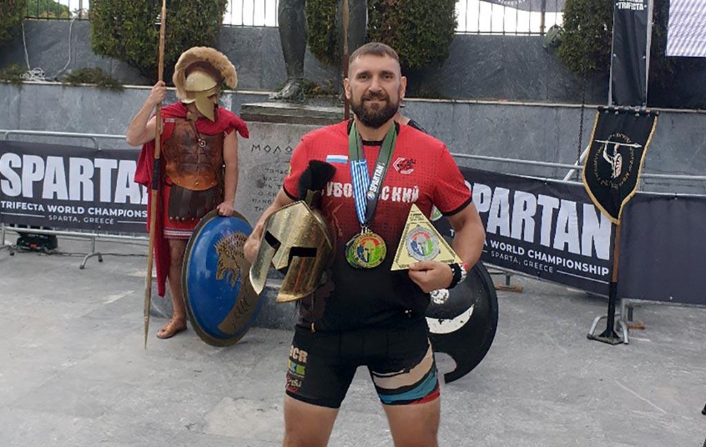 Вячеслав Макаров, атлет команды Suvorov OCR team //Фото предоставлено коммуникационным агентством