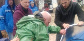 Спасли рыбака в Ростовской области//Фото: пресс-служба Ростовской областной поисково-спасательной службы.