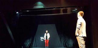Фрагмент видеоконференции по сети 5G МТС //Фото предоставлено пресс-службой МТС