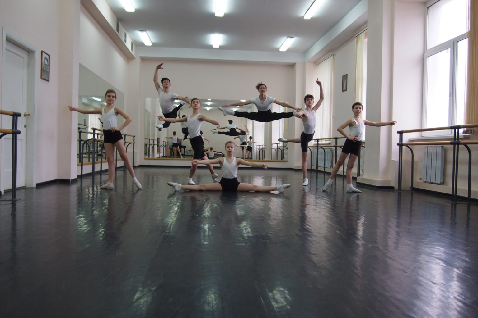 Занятия в Ростовском колледже искусств //Фото из архива Альберта Загретдинова
