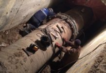 Авария на водоводе//Фото: администрация Новочеркасска