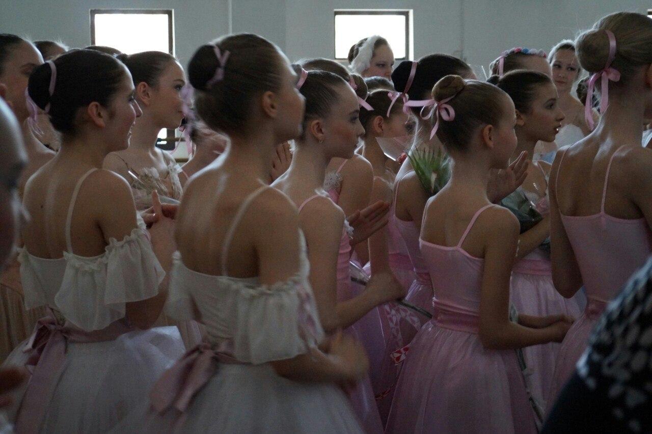 Воспитанницы Ростовского колледжа искусств //Фото из архива Альберта Загретдинова