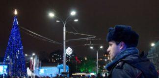 Полицейские в новогоднюю ночь//Фото: мвд по ростовской области