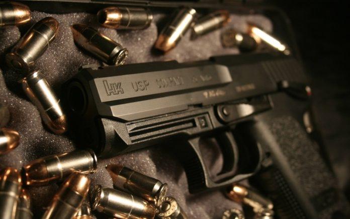 Пистолет и патроны//Фото: Setwalls