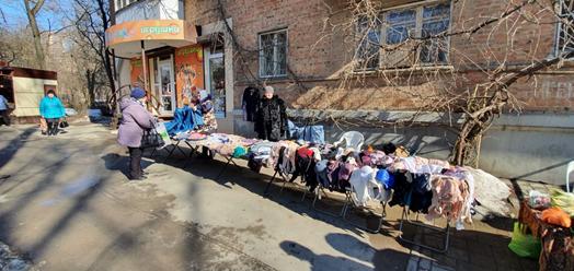 Несанкционированная торговля//Фото: администрация Ростова