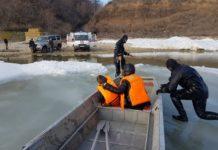 В Ростовской области спасли оказавшихся на льдине детей//Фото: правительство Ростовской области