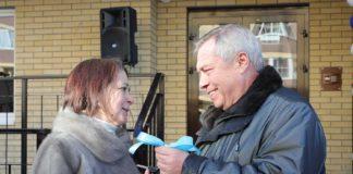 Обманутым дольщикам вручили ключи от квартир в ЖК «Европейский»//Фото: правительство Ростовской области