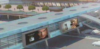 Проект надземного перехода на проспекте Космонавтов //Иллюстрация: сайт 1rnd.ru
