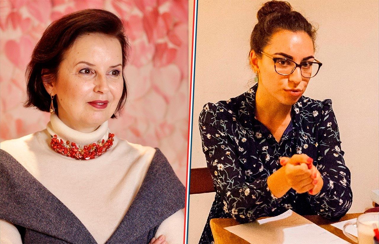 Психологи Наталья Брагина и Варвара Пугач //Коллаж: