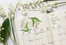 Календарь на май//Фото: pinterest.ru