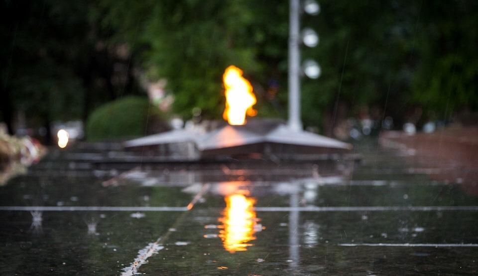 Вечный огонь//Фото: novokuznetsk.ru