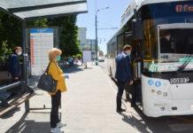 Масочный режим//Фото: Ростовский городской транспорт