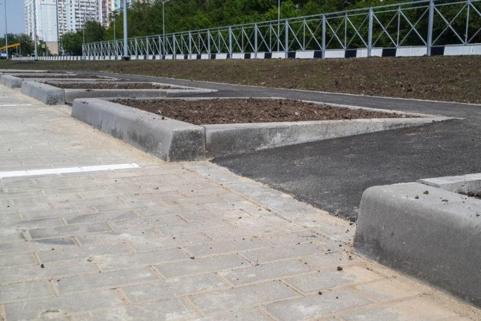Тротуарный пандус//Фото: администрация Ростова