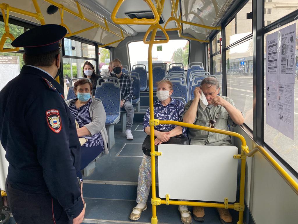Масочный режим//Фото: администрация Ростов