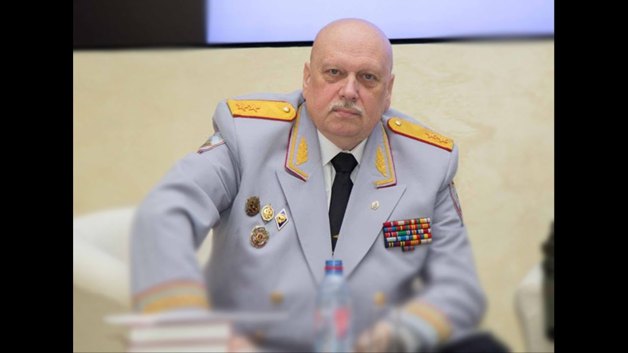 Генерал ФСБ Александр Михайлов //Скриншот youtube.com