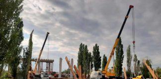 Строительство моста в Волгодонске//Фото: правительство РО