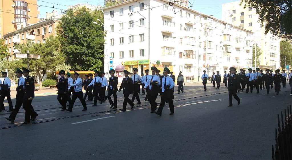 Как в Ростове прошел парад Победы 24 июня 2020 года //Фото: Дмитрий Большенко