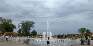«Умный» фонтан в парке «Левобережный»//Фото: администрация Ростова