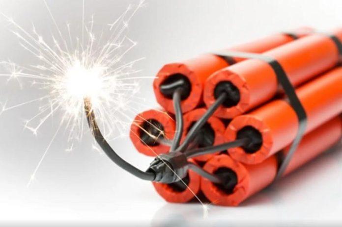 Взрывчатка//Фото: Тульская пресса