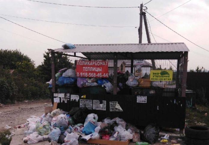 Свалка мусора на ул. Обсерваторной, 104 в поселке Верхнетемерницком //Фото с сайта 161.ru