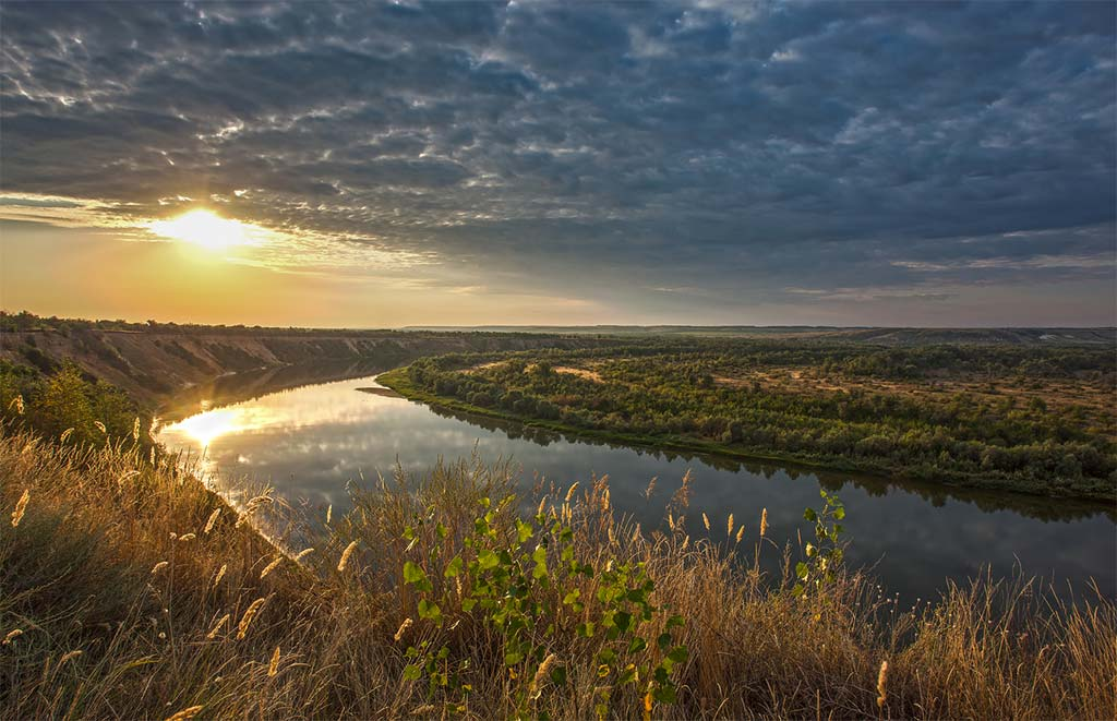 Река Дон в районе станицы Вешенской в Ростовской области //Фото:photosight.ru