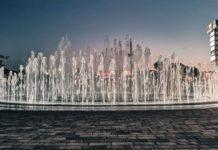 Светомузыкальный фонтан в Меге//Фото: Ростов-Главный