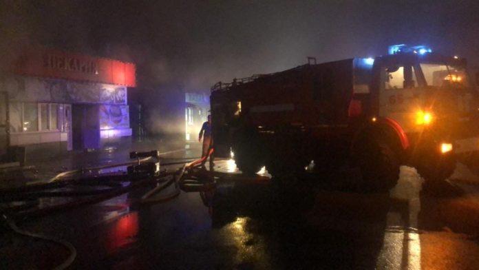 Пожар//Фото: ГУ МЧС России по РО