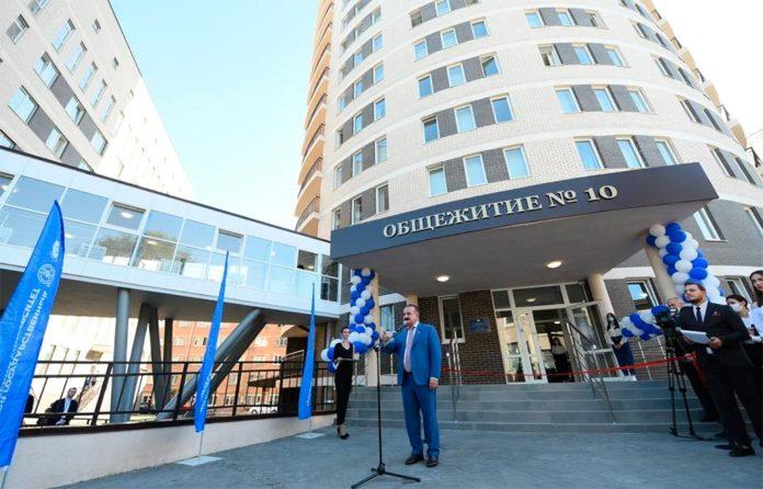 Открытие общежития ДГТУ //Фото: пресс-служба ДГТУ