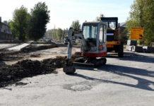Строительство дорог//Фото: правительство РО