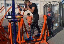 Уличный тренажерный комплекс//Фото: правительство Ростовской области