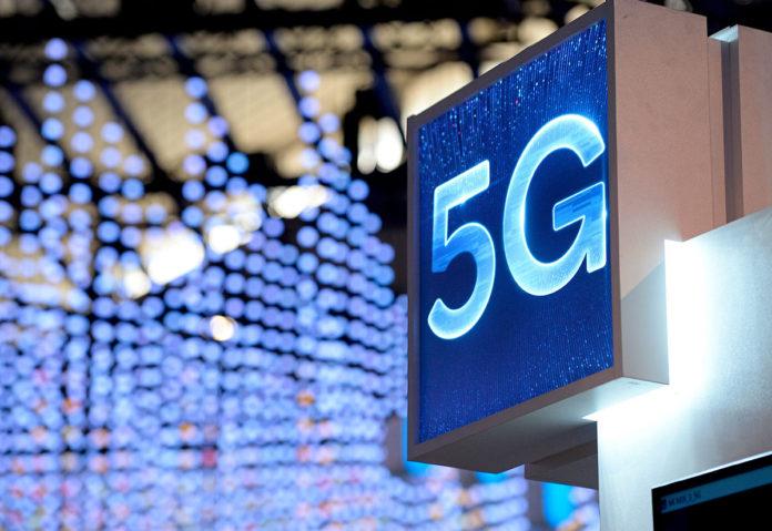 Логотип стандарта связи 5G //Фото с сайта Guardian.ng