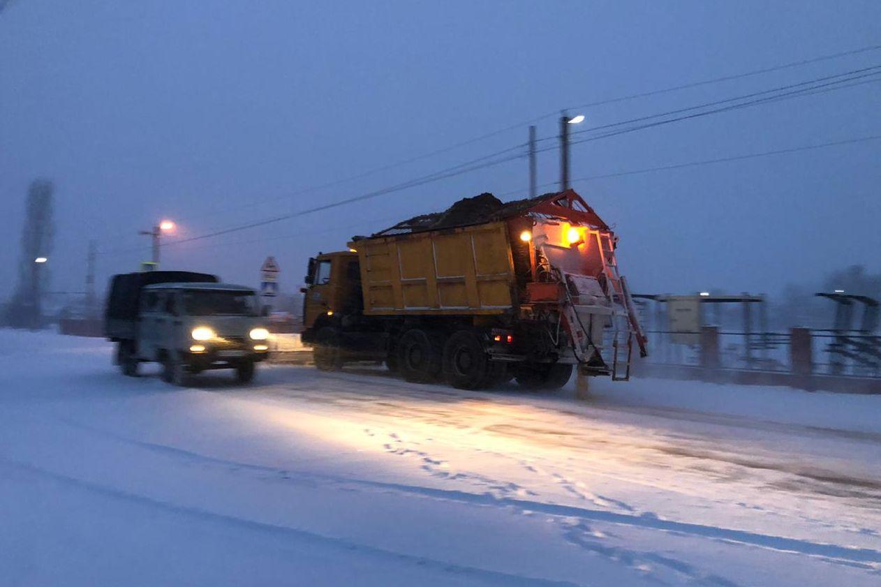 Расчищенные дороги от снега//Фото: правительство РО