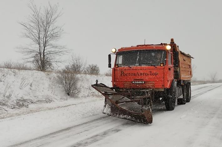 Снегоуборочная техника//Фото: правительство РО