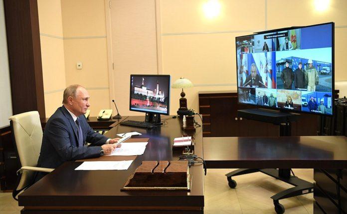 Президент России Владимир Путин //Фото предоставлено пресс-службой