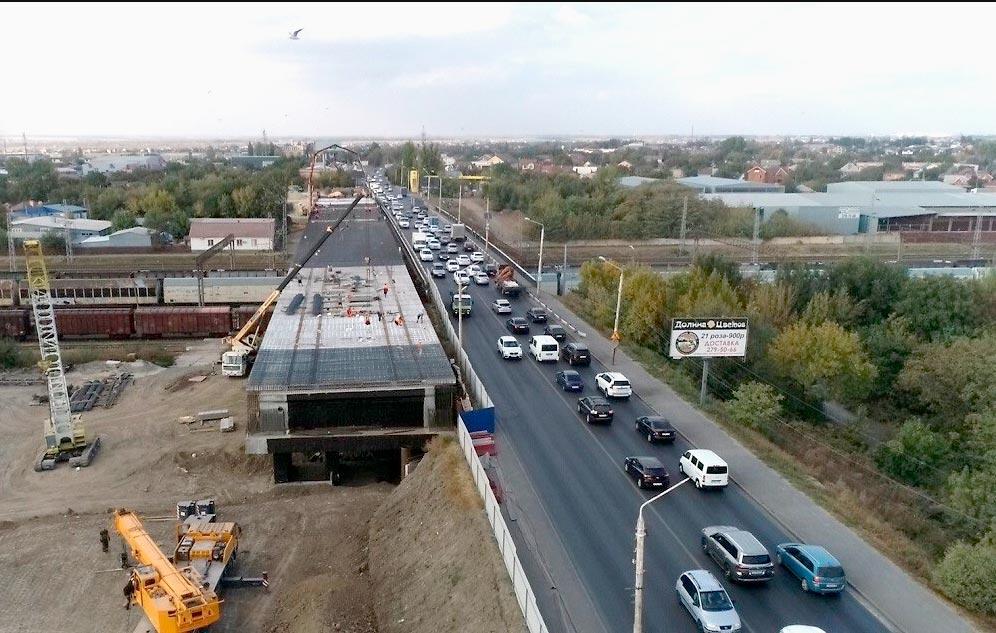 Мост на ул. Малиновского в Ростове-на-Дону //Фото с сайта ok.ru
